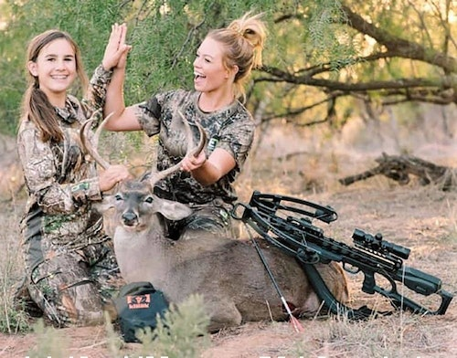 Crossbows are a smart choice for anyone who has trouble pulling the draw weight necessary for bowhunting with a vertical bow. (Photo courtesy of TenPoint Crossbows.)