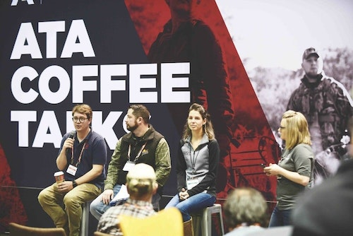 ATA's Coffee Talk allows presenters to create a discussion around a certain topic. Attendees are then encouraged to participate in the discussion.