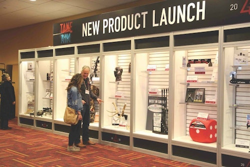 The New Product Launch was appreciated by show goers and created a daily buzz.