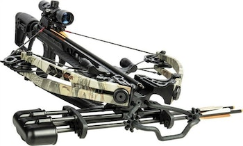 Bear Archery entered the crossbow market in 2018 with its Bear X lineup of horizontal bows.