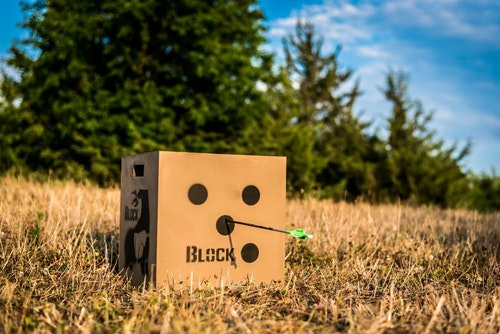 Targets are a good seller for traveling bowhunters who wish to check the accuracy of their bow after rigorous travel.