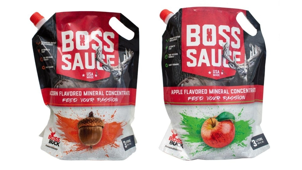 Boss Buck Acorn and Apple Liquid Mineral Attractants