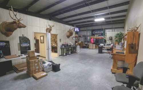 Cirrus Outdoors is headquartered in Victoria, Texas.