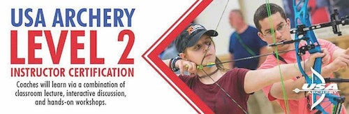 Advertise your certification class on USA Archery's Coaching Certification Schedule for maximum exposure.