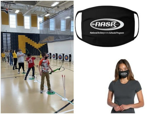 The NASP is offering face masks in its online store for instructors and shooters.