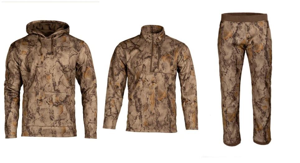 Natural Gear Dura Fleece Layering Series