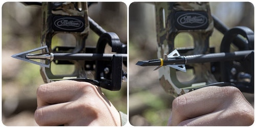 While Swhacker is known primarily for its expandable heads, the company also offers top-notch fixed-blade and hybrid broadheads.