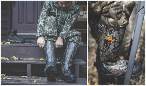 Thorogood Infinity FD series waterproof boots are available in a variety of insulation options and camo patterns.