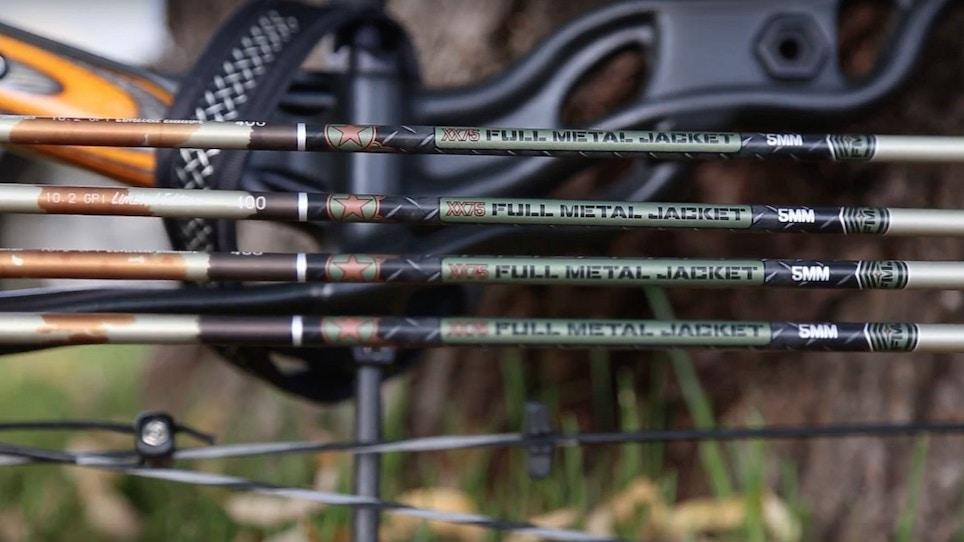 Limited-Edition Easton 5MM FMJ Arrows in Retro Camo
