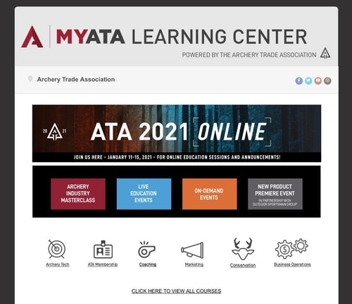 You can view the live and pre-recorded Education Sessions for free. (Photo courtesy of ATA.)