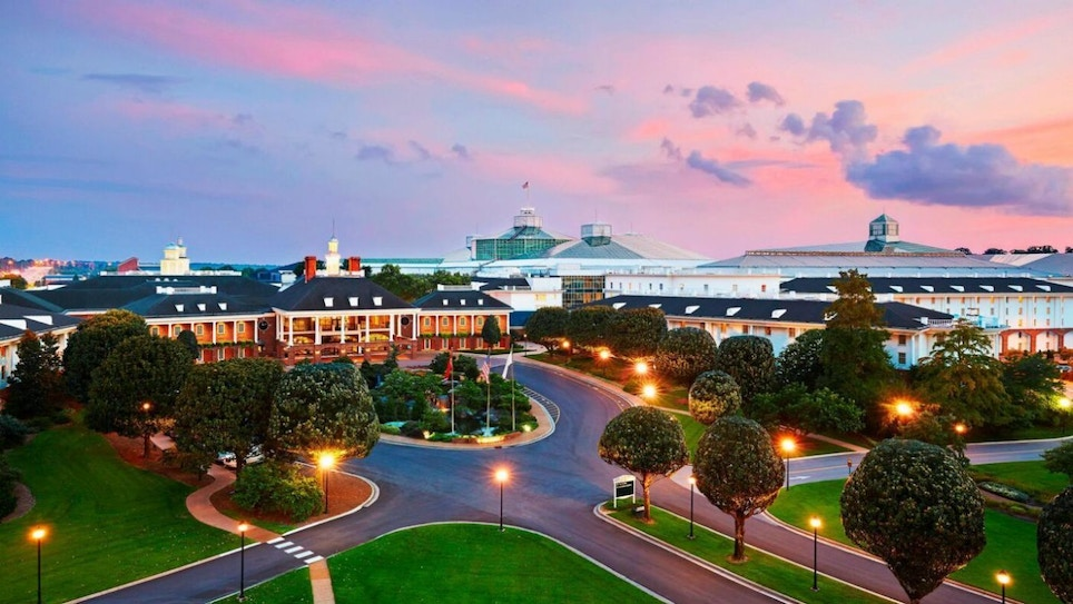 The Gaylord Opryland, Host of the Hunting Retailer Show, Is Quite the Place!