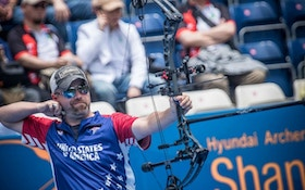 Braden Gellenthien Wins Double Gold During 2nd Stage of 2019 Hyundai Archery World Cup