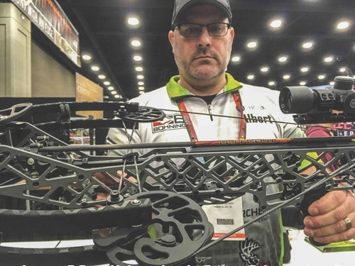 Modern crossbows such as this model from Gearhead Archery are lightweight, incredibly accurate and have outstanding trigger systems.
