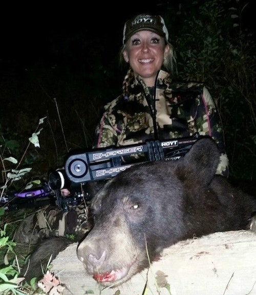 Sara Lamson is an avid hunter and angler. She'll move from Idaho to Wisconsin in her new role with Lakewood Products.