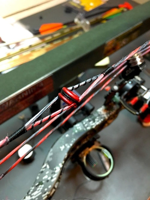 Be sure your staff understands the importance of performing high-quality work at every stage of setting up a customer's bow.