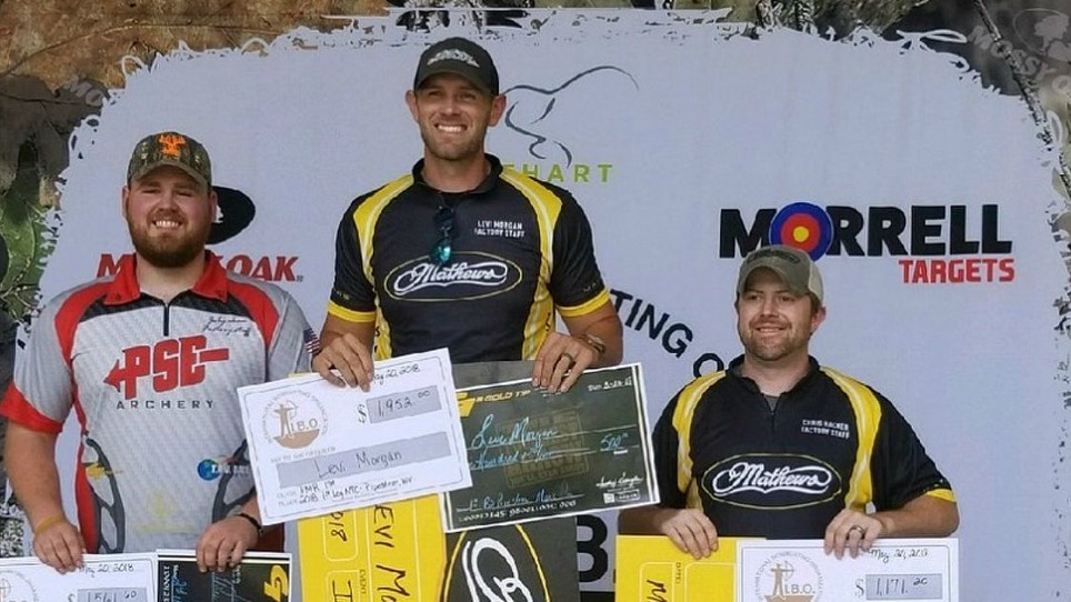 Levi Morgan Takes Top Honors at IBO Series Event