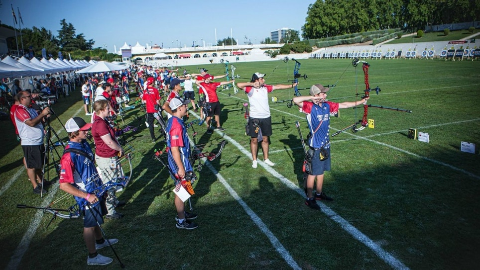USA Sweeps All Four Compound Men's and Women's Team Youth World Champion Titles