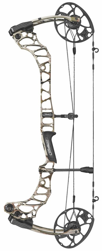 Mathews' new flagship hunting bow for 2019, the 30-inch axle-to-axle Vertix.