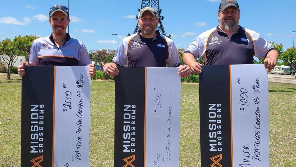 Mission Crossbows Sweeps Paris, Texas, ASA for Fifth Consecutive Year
