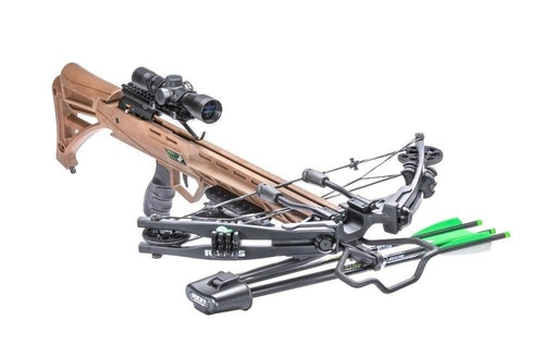 The Rocky Mountain RM-415 features string stops and limb noise dampeners for extra-quiet shooting in all conditions.