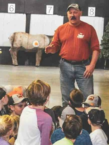 All activities shut down during midday at Kicking Bear's Adventure Day, and Ray Howell shares a message about his childhood and his faith.