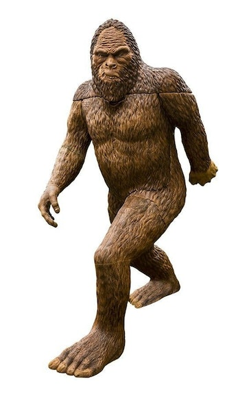 The Rinehart Sasquatch is a crowd favorite at 3-D archery shoots across North America.