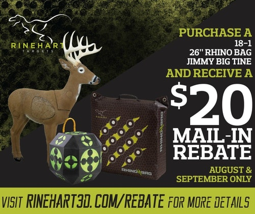 Mail In Rebate Offers >> 2019 Mail In Rebate Offers From Rinehart Targets Archery Business