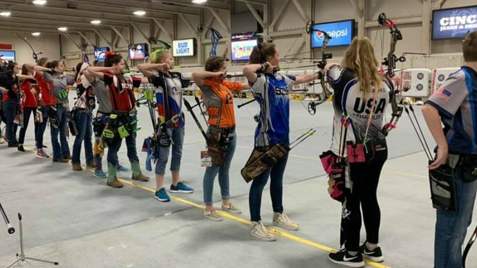 Youth Archers Turn Out for 2019 S3DA Vegas National Championship