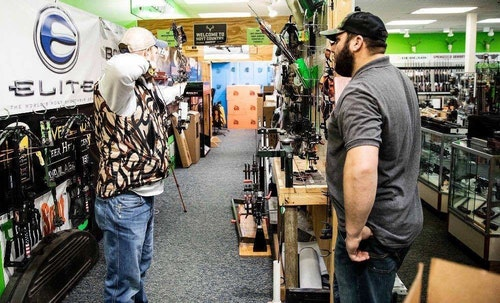 Most customers want to test-fire bows before they buy. Make sure to adjust the draw length and draw weight to your customer before they test it. They'll get a positive impression of you and the bow.