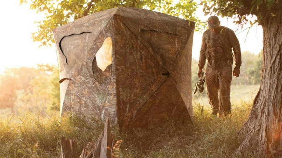 Deadly Quiet: Ameristep's New Silent Brickhouse Blind
