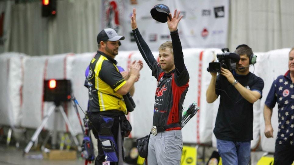 Team PSE's Stephan Hansen Wins NFAA Indoor Nationals