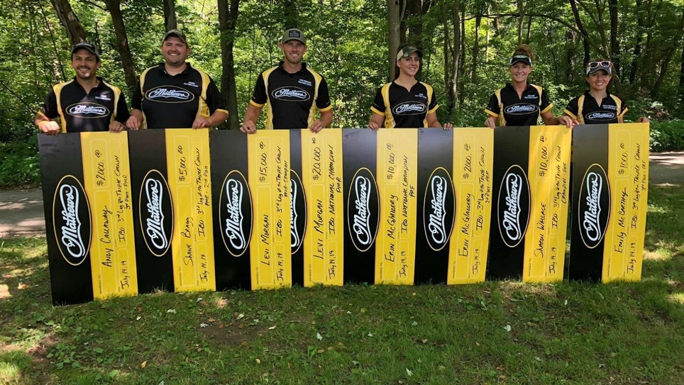 Mathews Archery Pro Levi Morgan Defends IBO National Triple Crown Championship