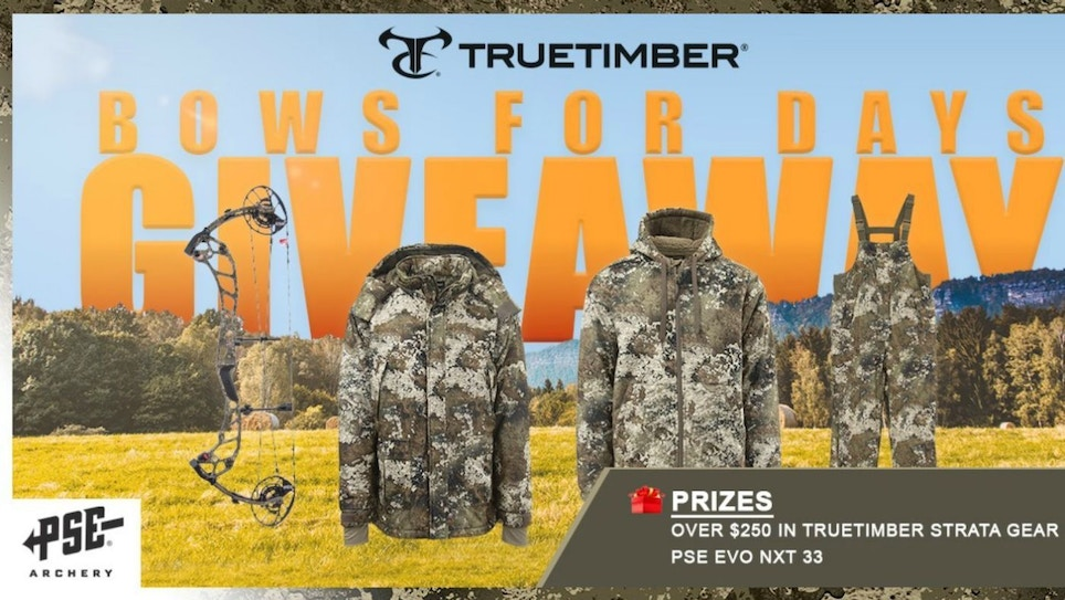 TrueTimber and PSE Partner in Gear Giveaway