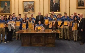 NASP World Champion High School Archery Team Receives Honors