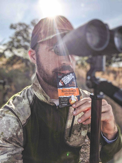 Hunters and survivalists alike will appreciate healthy, lightweight, calorie-dense food options that can be thrown in a pack for on-the-go eating.