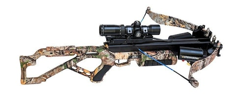 Steambow crossbow