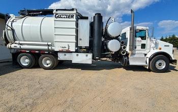 2012 Hydro Excavator HE Guzzler, Kenworth T800.