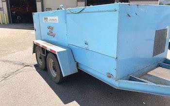 1993 Sreco 600 GA sewer jet trailer