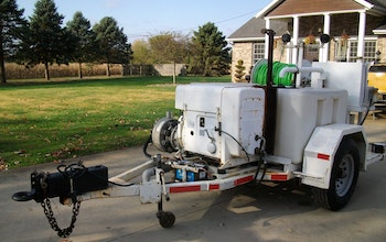 1996 Harben Sewer Jetter Trailer