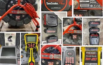 RIDGID SeeSnake Drain Inspection Camera/Locator System