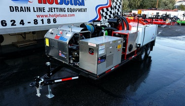 Get a Walk-Around View of the HotJet USA Platinum Series Vac 'N Jet Combo Unit