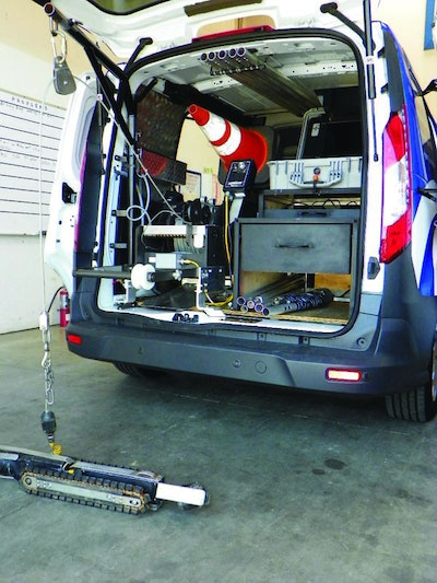 A San Diego Contractor Gets More For Less With An Increased-Efficiency CCTV Vehicle