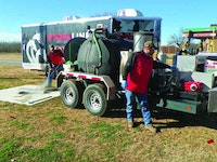 Hot-Water Jetter Opens Business Pipelines