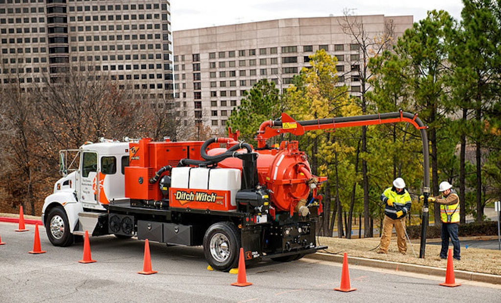 New FXT60 Vacuum Excavator From Ditch Witch
