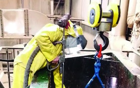 Hydroblaster Cleans Fast And Cuts Downtime