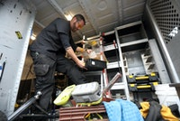 Storage Options Keep Service Vehicles Productive