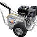 Aluminum frame adds durability to pressure washer series