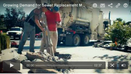 Growing Demand for Sewer Replacement Means Trenchless Technology is Key
