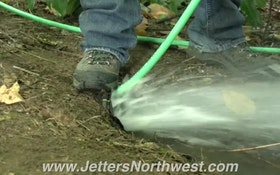 Portable Jetter Tackles Big Root Problem