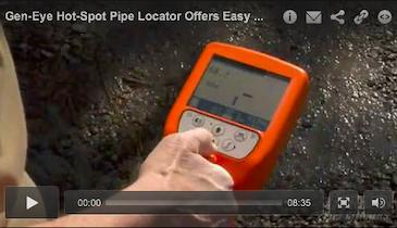Gen-Eye Hot-Spot Pipe Locator Offers Easy Locating